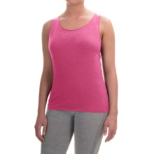 Calida Comfort Tank Top - Stretch Cotton Jersey (For Women) in Anemone Pink - Closeouts
