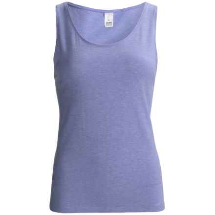 Calida Comfort Tank Top - Stretch Cotton Jersey (For Women) in Hydrangea Heather - Closeouts