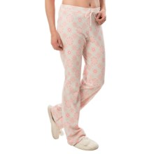 Calida Cotton Lounge Pants (For Women) in Star White - Closeouts