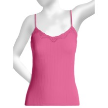 Calida Etude Camisole - Cotton, Spaghetti Strap (For Women) in Berry Pink - Closeouts