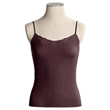 Calida Etude Camisole - Cotton, Spaghetti Strap (For Women) in Old Vine - Closeouts