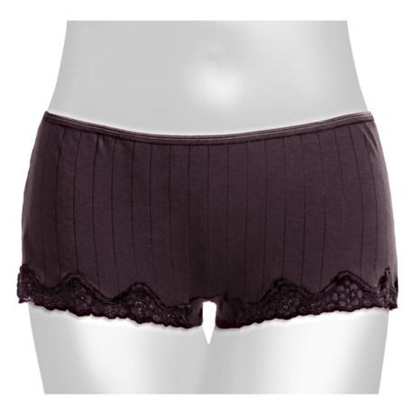Calida Etude Panties - Boy-Cut Briefs (For Women) in Old Vine
