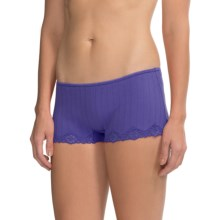 Calida Etude Panties - Boy-Cut Briefs (For Women) in Periwinkle - Closeouts