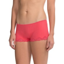 Calida Etude Panties - Boy-Cut Briefs (For Women) in Pink Havens - Closeouts