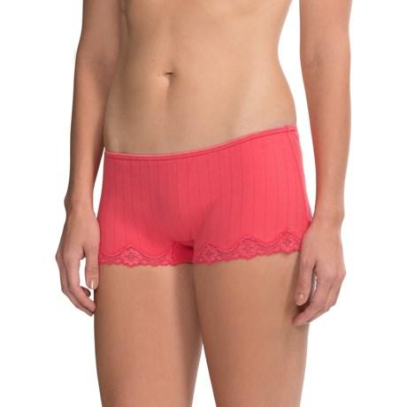 Calida Etude Panties - Boy-Cut Briefs (For Women) in Pink Havens