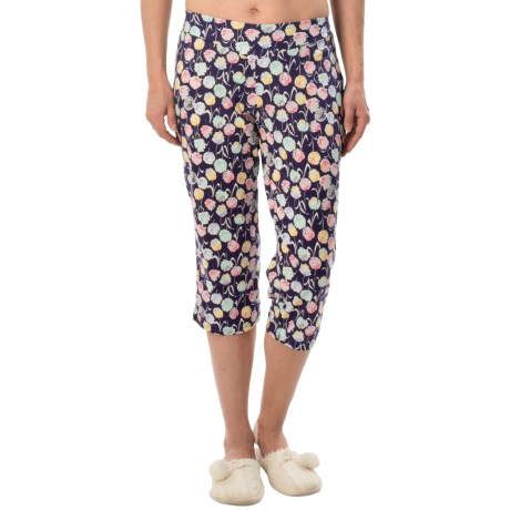 Calida Favorites Crop Lounge Pants Cotton Modal (For Women)