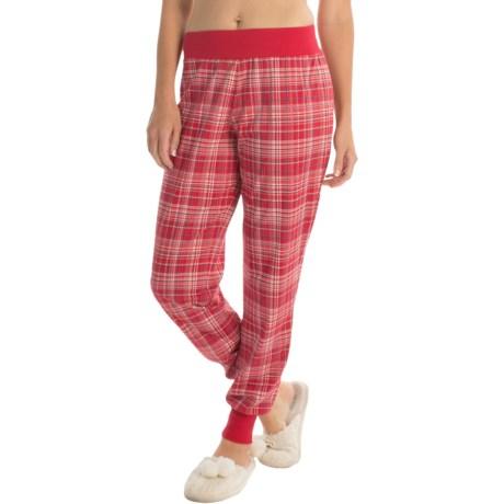 Calida Favorites Cuffed Pajama Pants (For Women) in Crimson