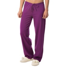 Calida Favourites Crop Lounge Pants - Single Jersey (For Women) in Gloxinia - Closeouts