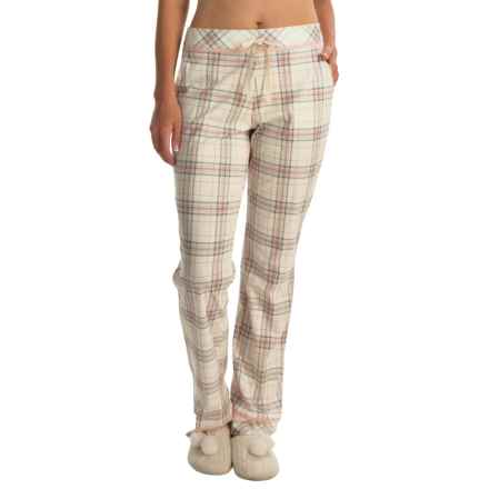 Calida Favourites Pocketed Pajama Pants (For Women) in Glasrose - Closeouts