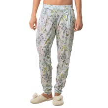 Calida Favourites Pull-On Pajama Pants - Cotton-Modal (For Women) in Star White - Closeouts