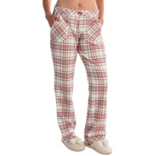 Calida Favourites Trend Midweight Pocketed Pajama Pants (For Women) in Glasrose - Closeouts