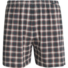 Calida Gaudena Boxers - Combed Cotton (For Men) in Anthracite - Closeouts
