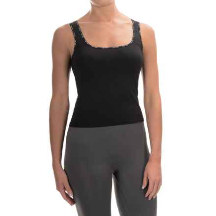 Calida Identity Tank Top - Stretch Jersey, Sleeveless (For Women) in Black - Closeouts