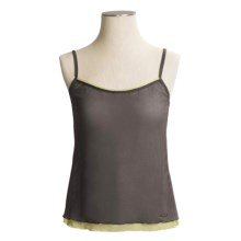 Calida Infinity Tank Top - Spaghetti Straps (For Women) in Iron - Closeouts