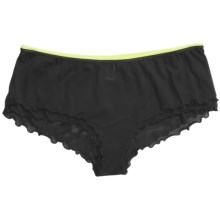 Calida Infinity Underwear - Boy-Cut Briefs (For Women) in 992 Black - Closeouts