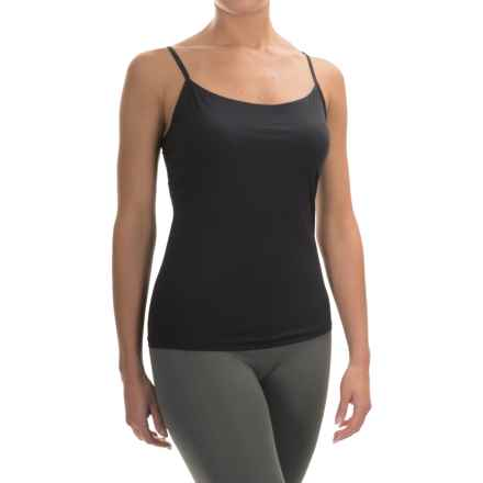 Calida Intimacy Single Jersey Tank Top - Spaghetti Straps (For Women) in Black - Closeouts