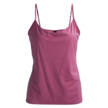 Calida Intimacy Single Jersey Tank Top - Spaghetti Straps (For Women) in Red Violet - Closeouts