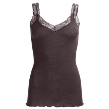 Calida Kirstin Camisole - Wool-Silk, Spaghetti Strap (For Women) in Pansy Violet - Closeouts
