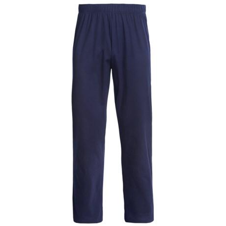Calida Liberty Lounge Pants - Cotton (For Men) in Dark Blue