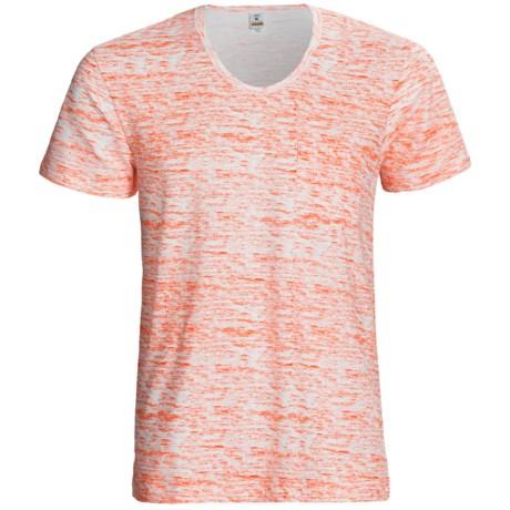 Calida Liberty T-Shirt - Stretch Cotton, Short Sleeve (For Men) in Blaze