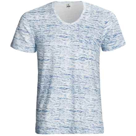 Calida Liberty T-Shirt - Stretch Cotton, Short Sleeve (For Men) in Blue Gap - Closeouts