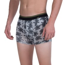 Calida Light and Shadow Boxer Briefs (For Men) in Anthracite - Closeouts