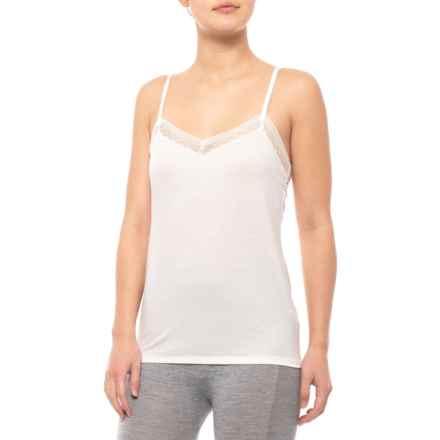 9cef8cdfe7d260 Calida Louise Spaghetti Strap Tank Top (For Women) in Star White - Closeouts