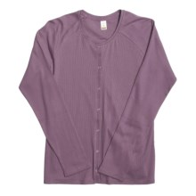 Calida Mix and Match Lounge Jacket - Cotton (For Women) in Mallow - Closeouts