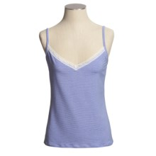 Calida Montreal Camisole - Single-Jersey Cotton, Spaghetti Strap (For Women) in Victoria Blue - Closeouts