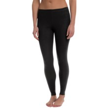 Calida Mood Leggings - Stretch Cotton (For Women) in Black - Closeouts