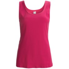 Calida Mood Tank Top - Stretch Swiss Cotton (For Women) in Brilliant Pink - Closeouts