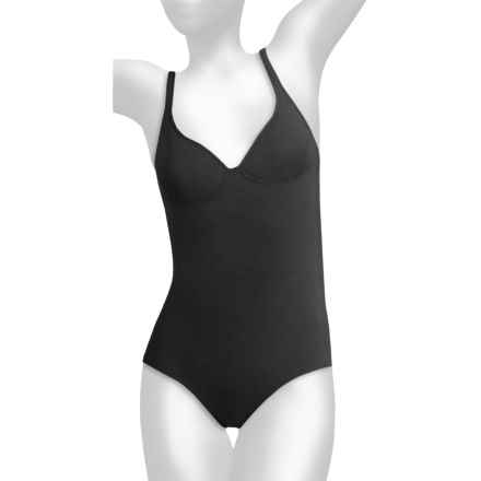 Calida Motion Meryl® Bodysuit (For Women) in Black - Closeouts