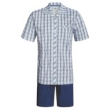Calida Regatta Pajamas - Button-Up, Short Sleeve (For Men)