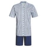 Calida Regatta Pajamas - Button-Up, Short Sleeve (For Men)