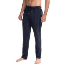 Calida Remix 1 Lounge Pants - Cotton, Open Leg (For Men) in Anil Blue - Closeouts