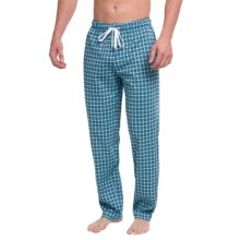 Calida Remix 1 Lounge Pants - Cotton, Open Leg (For Men) in Bonnie Blue - Closeouts
