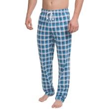Calida Remix 1 Lounge Pants - Cotton, Open Leg (For Men) in Brilliant Blue - Closeouts