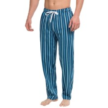 Calida Remix 1 Lounge Pants - Cotton, Open Leg (For Men) in Ink Blue - Closeouts