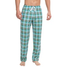 Calida Remix 1 Lounge Pants - Cotton, Open Leg (For Men) in Pale Purple - Closeouts
