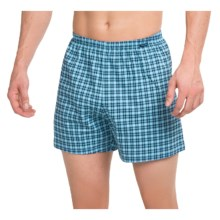 Calida Remix 1 Printed Boxers - Cotton (For Men) in Bonnie Blue - Closeouts