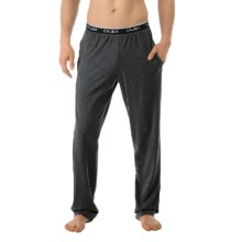 Calida Remix 3 Pajama Pants (For Men) in Anthrazite Mele - Closeouts
