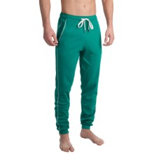 Calida Remix Basic Jersey Lounge Pants (For Men) in Bayou Green - Closeouts