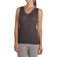 Calida Richesse Tank Top - Wool-Silk (For Women) in Iron - Closeouts