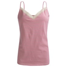 Calida Ronja Camisole - Cotton Single Jersey (For Women) in Red Violet - Closeouts