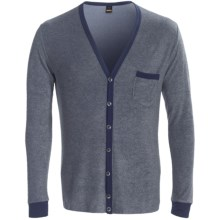 Calida Sascha Cardigan Sweater - Cotton Terry (For Men)