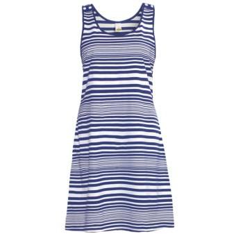 Calida Sea Coast Nightshirt - Cotton Jersey, Sleeveless (For Women) in Twilight