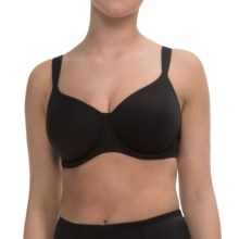 Calida Sensations Padded Bra - Full Coverage, Underwire (For Women) in Black - Closeouts