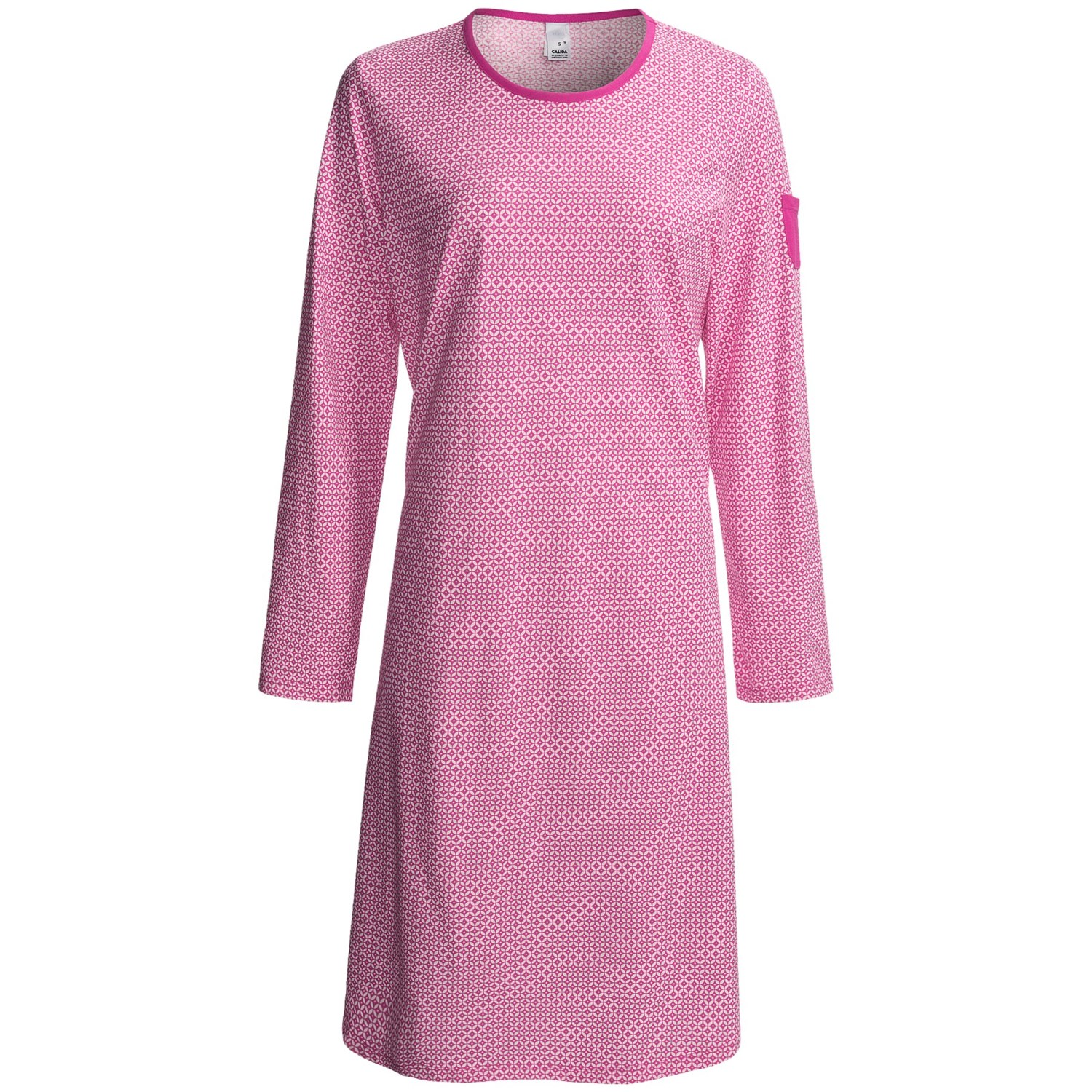 Dark pink floral print satin 'Elegant' long sleeve nightshirt Save. Was £ Now £ Lounge & Sleep Blue polka dot print cotton 3/4 length sleeve nightshirt Blue womens plus supima long sleeve calf-length nightdress Save. Was £ Now £ Lisca Black 'Caroline' long sleeve .