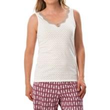 Calida Vanilla Crumbles Tank Top - Supima® Cotton (For Women) in Ivory - Closeouts