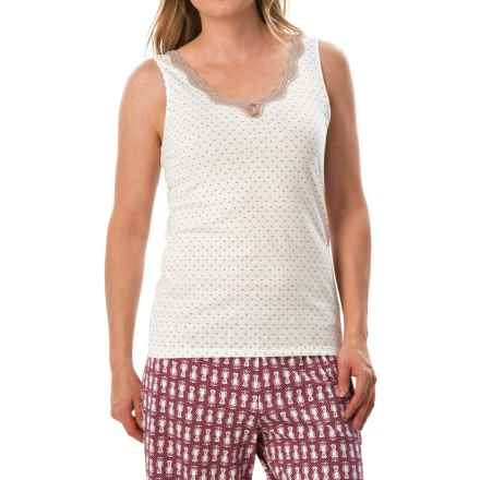 Calida Vanilla Crumbles Tank Top - Supima® Cotton (For Women) in Ivory - Closeouts